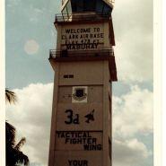 Clark Air Base flightline tower.
